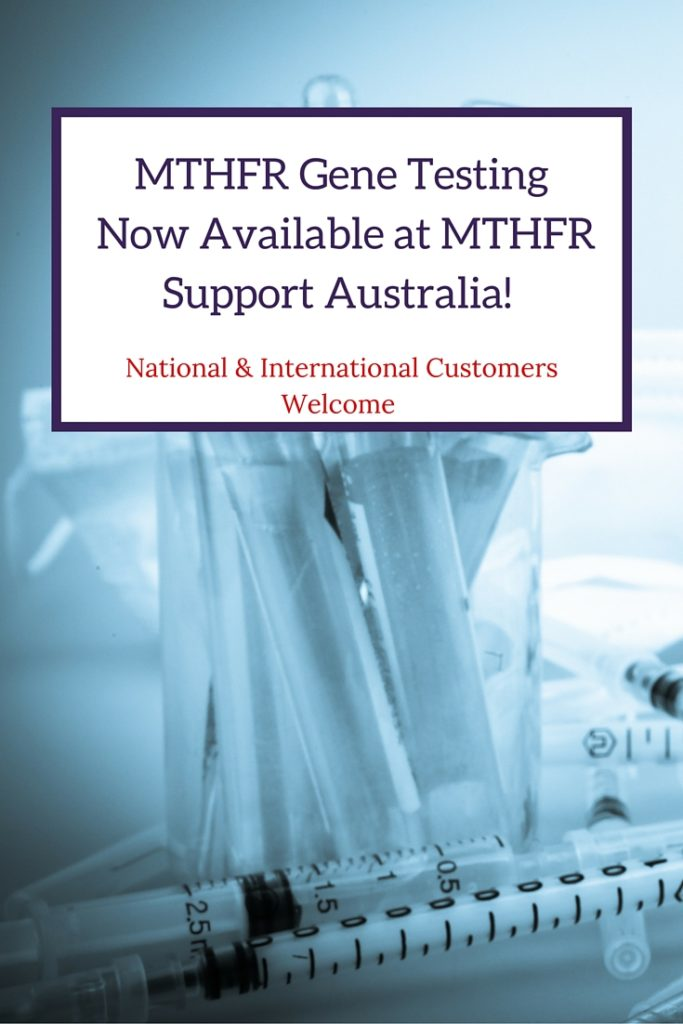 The MTHFR Gene Test is now available through the clinic! National and International customers welcome. A simple and easy finger prick test you can complete at home - no doctors visit required! A great economical testing option for those wanting a convenient testing option, young children or those with needle phobias.